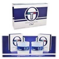Sergio Tacchini Club - Набор (туалетная вода 100 ml + лосьон после бритья 100 ml)