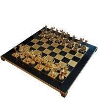 Настольная игра - Шахматы Manopoulos Геркулес - синие - 36х36 см