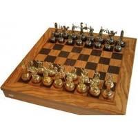 Настольная игра - Шахматы Manopoulos Оливковый совет и Троянская война - 41х41 см