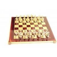 Настольная игра - Шахматы Manopoulos Титаны - красные - 36х36 см