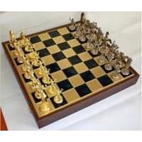 Настольная игра - Шахматы Manopoulos Троянская война - коричневые - 54х54 см