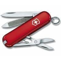 Складной нож Victorinox - Classic - 58 мм, 7 функций красный (0.6203)