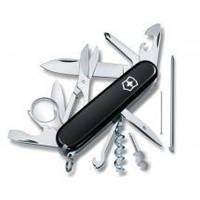 Складной нож Victorinox - Explorer - 91 мм, 19 функций черный (1.6705.3)