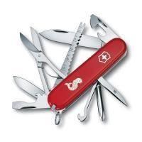 Складной нож Victorinox - Fisherman - 91 мм, 17 функций красный лого (1.4733.72)