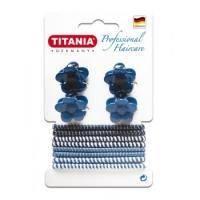 Titania - Набор для волос (Зажим для волос 4шт. + резинки ) (8003)