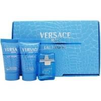 Versace Man Eau Fraiche -  Набор (туалетная вода 50 + после бритья 50 + гель для душа 50)
