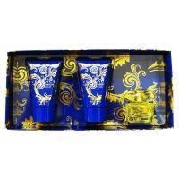 Versace Yellow Diamond Intense - Набор (парфюмированная вода 50 + лосьон-молочко для теля 50 + гель для душа 50)