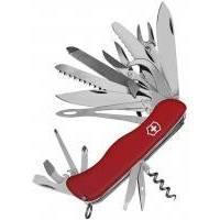 Victorinox - Многофункциональный складной нож Workchamp XL - 111 мм 30 функций Красный (09064.XL)