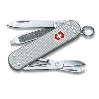Victorinox - Складной нож Alox - 58 мм,5 функций Cеребристый серый (06221.26)