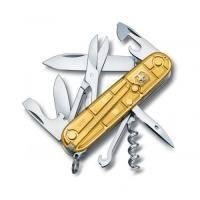 Victorinox - Складной нож Climber Gold Limited Edition - 91мм, 14 функций Золотой полупрозрачный (13703.T88)