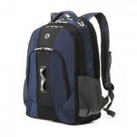 Wenger - Рюкзак для ноутбука Swiss Gear до 15'' -  33х47х17см, объем: 28 л. Черный/синий (арт. 3227302408)