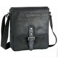 Wenger - Вертикальная плечевая сумка - 22х25х6 см Черный (30-01BK)