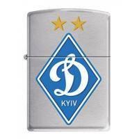 Зажигалка Zippo - Dinamo Kiev Satin Chrome (200 DK )