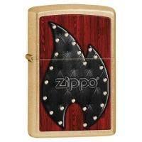 Зажигалка Zippo - Leather Flame (28832)