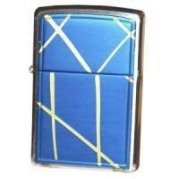 Зажигалка Zippo - String Paint Blue Brushed Chrome (20177)
