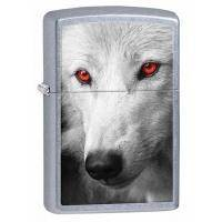 Зажигалка Zippo - Wolf With Red Eyes (28877)