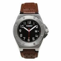 Zippo - Часы Casual Коричневый (45009)