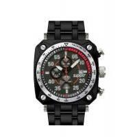 Zippo - Часы кварцевые Sport Черный (45019)