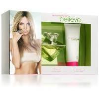 Britney Spears Believe -  Набор (парфюмированная вода 50 + парфюмированная вода 10 + крем для тела 100)