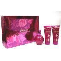 Britney Spears Fantasy -  Набор (парфюмированная вода 50 + крем для тела 50 + гель для душа 50 + блеск для губ 8 ml)