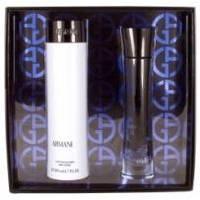 Giorgio Armani Armani Code Eau de Parfum -  Набор (парфюмированная вода mini 3 ml + лосьон-молочко для тела 50 + гель для душа 50)
