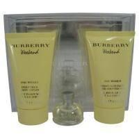 Burberry Weekend for women -  Набор (парфюмированная вода 100 + лосьон-молочко для тела 100 + гель для душа 100)