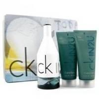 Calvin Klein CK IN2U Him -  Набор (туалетная вода 150 + гель после бритья 150 + гель для душа 200)