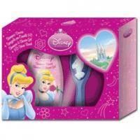 Admiranda Cinderella - Набор (шампунь-гель для душа персик и абрикос 300 ml+расческа 3D) примятые (арт. AM 71443М)