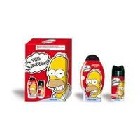 Admiranda Simpsons - Набор подарочный (Шампунь-гель для душа Simpsons 250 ml+Дезодорант-спрей для тела парфюмированный Simpsons 150 ml) примятые (арт. AM 73135М)