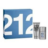 Carolina Herrera 212 For Man -  Набор (туалетная вода 50 + гель для душа 150)