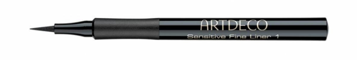 Подводка для век для чувствительной кожи Artdeco - Sensitive Fine Liner №01 Черная - 1 ml