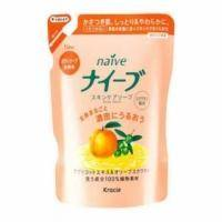 Kanedo Мыло для тела жидкое для всех типов кожи с экстрактом абрикоса и оливкового сквалана (сменная упаковка) - Naive - 462 ml (KN 16775)