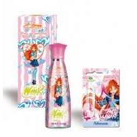 Admiranda Winx Rock Band - Набор подарочный (Туалетная вода Bloom 100 ml + Блеск для губ увлажняющий Lipgloss roll-on Winx Rock Band 3.7 ml)