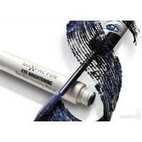 Тушь для ресниц объемная для голубых глаз с мерцающими частицами Max Factor - Eye Brightening Tonal Black Volumising Mascara - 7.2 ml