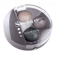 Тени для век 3-цветные компактные Bourjois - Smoky Eyes №12 Белая сирень - 4.5 g