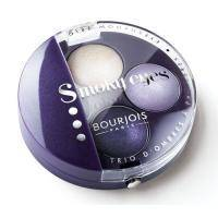 Тени для век 3-цветные компактные Bourjois - Smoky Eyes №06 Фиолетовый - 4.5 g