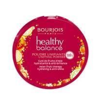 Пудра для лица компактная матирующая с витаминным комплексом Bourjois - Healthy Balance №55 Темно-бежевый - 9 g