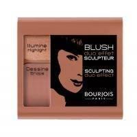Румяна для лица 2-цветные компактные Bourjois - Sculpting Duo Effect №06 Темно-бежевый - 6 g
