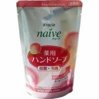 Kanebo Мыло для рук жидкое с экстрактом листьев персикового дерева (сменная упаковка) - Naive - 200 ml (KN 17761)