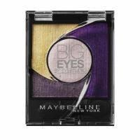 Тени для век 4-цветные компактные стойкие Maybelline - Big Eyes by Eyestudio №05 Мерцающий фиолетово-золотистый - 3.75 g