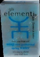 Gli Elementi - Мыло на основе термальной ключевой воды – 100ml