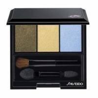 Тени-трио для век с шелковистой текстурой и эффектом сияния Shiseido - Luminizing Satin Eye Color Trio Opera GD 804 3g