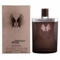 Police Wings Titanium Men