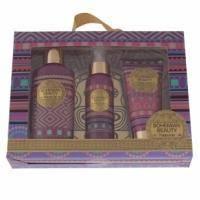 Mades Cosmetics - Bohemian Beauty с ароматом богемный близ - Набор (гель для душа 185 ml+лосьон для тела 100 ml+спрей для тела 100 ml)