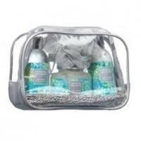 Mades Cosmetics - Crystal Wellness с ароматом спящий лес - Набор (гель для душа 165 ml+лосьон для тела 165 ml+скраб для тела 200 ml+мочалка)