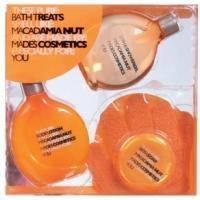 Mades Cosmetics  - Pure орех макадамия - Набор (гель для душа 150 мл+лосьон для тела 150 мл+мочалка-рукавичка массажная+мыло 50 гр)