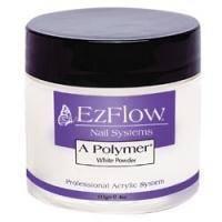 EzFlow - Пудра белая акриловая A-Polimer White - 113 г