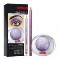 Pupa - Luminys Kit №06 - Набор для макияжа (тени для век 1-цветные запеченные Luminys 23 + карандаш для глаз с эффектом мерцания Glitter Eyeliner 05)