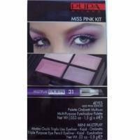 Pupa - Miss Pink Kit Розовый - Набор для макияжа (тени 4- цветные + карандаш для глаз Multiplay 31 0.8g+ аппликатор) 6.8 g