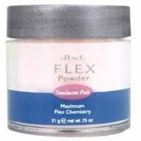 ibd - Прозрачно-розовая акриловая пудра Translucent Pink Flex Polymer Powder - 21 g